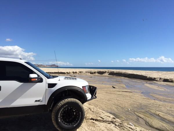 Ford Raptor in Baja