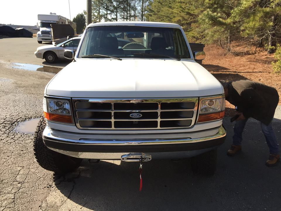 UNIQUE 6.2L '93 Ford Bronco w/Ford Raptor Fram