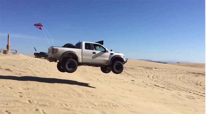 RAptor huge jump