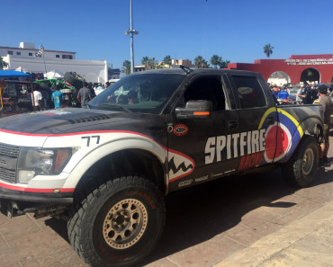Spitfire Racing   in the Norra Mexican 1000 Camburg built raptor